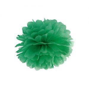 feestartikelen-pompom-groen