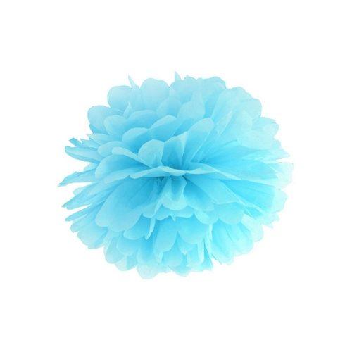 feestartikelen-pompom-lichtblauw