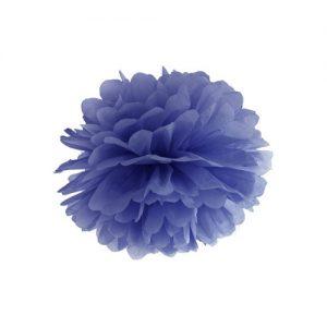 feestartikelen-pompom-navy-blauw