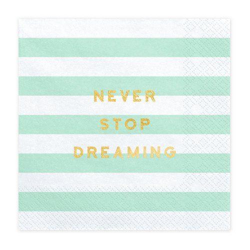feestartikelen-servetten-never-stop-dreaming