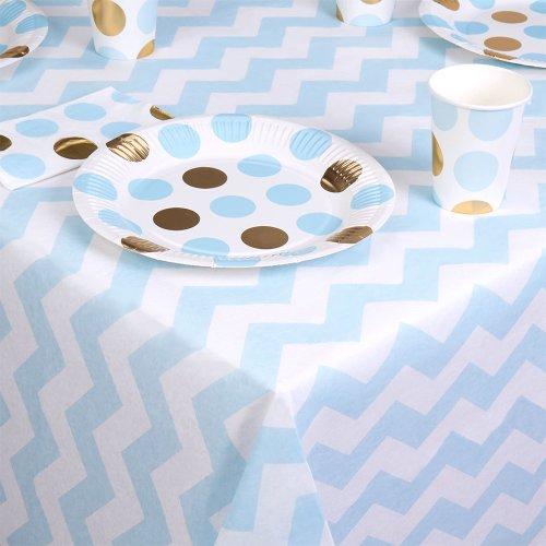 feestartikelen-tafelkleed-pattern-works-blauw