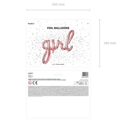 feestartikelen-folieballon-girl-rosegoud