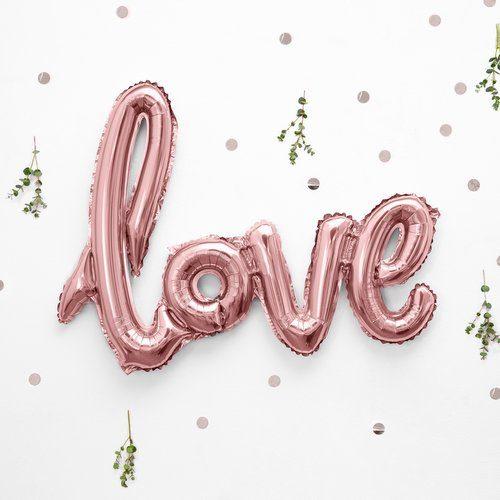 feestartikelen-folieballonnen-love-rosegoud-2