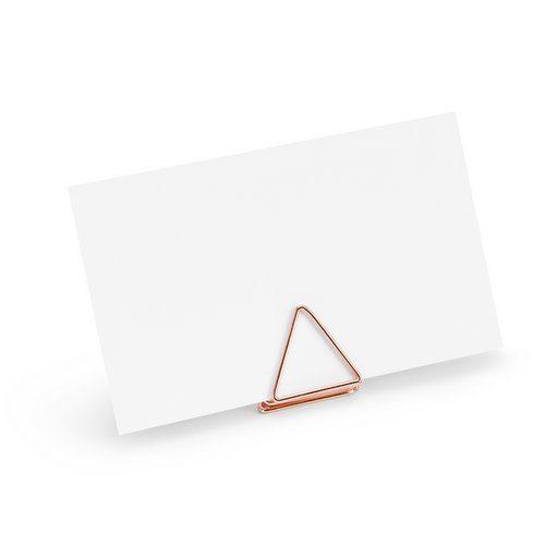feestartikelen-plaatskaarthouders-triangle-rosegoud-2