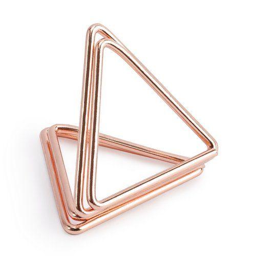 feestartikelen-plaatskaarthouders-triangle-rosegoud-5