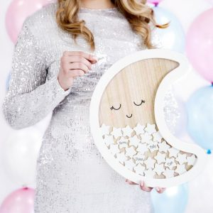 babyshower-versiering-houten-frame-gastenboek-moon-8