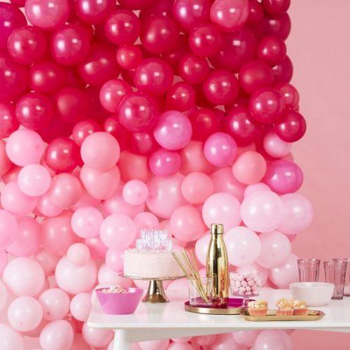 feestartikelen-ballonnenmuur-ombre-pink-stargazer