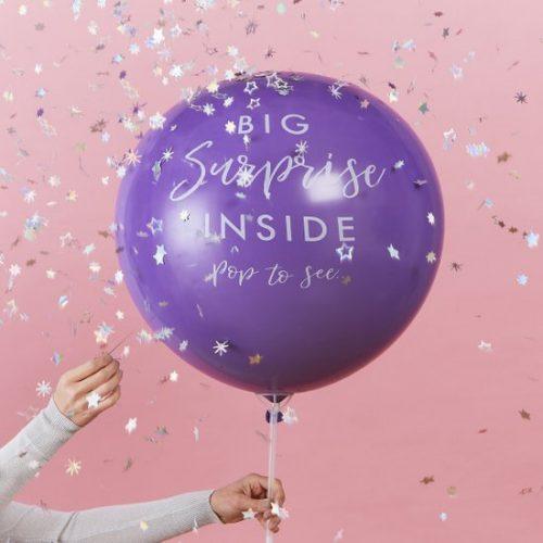 feestartikelen-mega-ballon-big-surprise-inside-stargazer