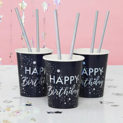 feestartikelen-papieren-bekertjes-happy-birthday-stargazer