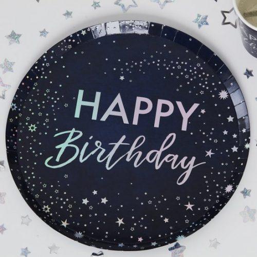 feestartikelen-papieren-bordjes-happy-birthday-stargazer-2