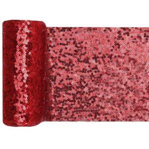 feestartikelen-tafelloper-sequin-rood (2)