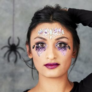 halloween-decoratie-halloween-glitter-make-up-lets-get-batty-5