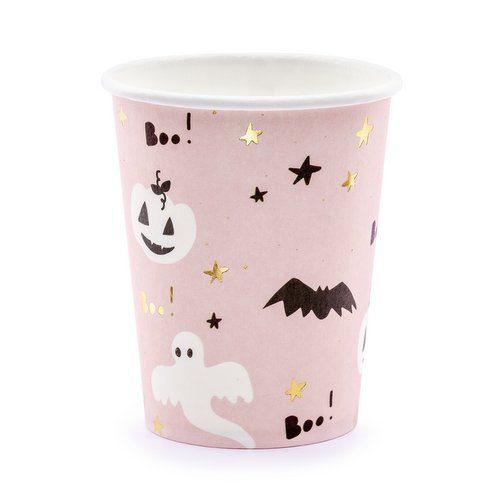 halloween-decoratie-papieren-bekertjes-boo-black-bats-2