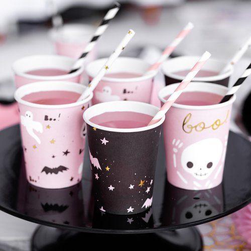 halloween-decoratie-papieren-bekertjes-boo-black-bats-5