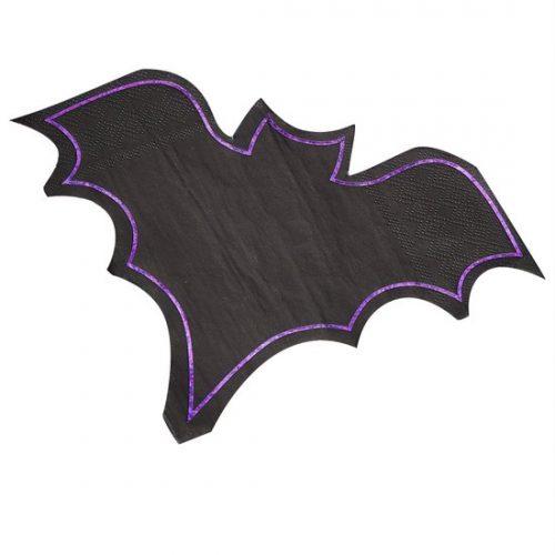halloween-decoratie-servetten-black-bats-lets-get-batty