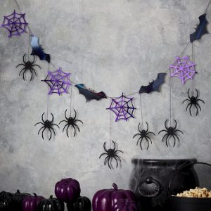 halloween-decoratie-slinger-spiders-bats-lets-get-batty-2