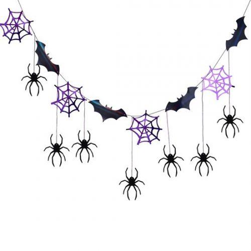 halloween-decoratie-slinger-spiders-bats-lets-get-batty