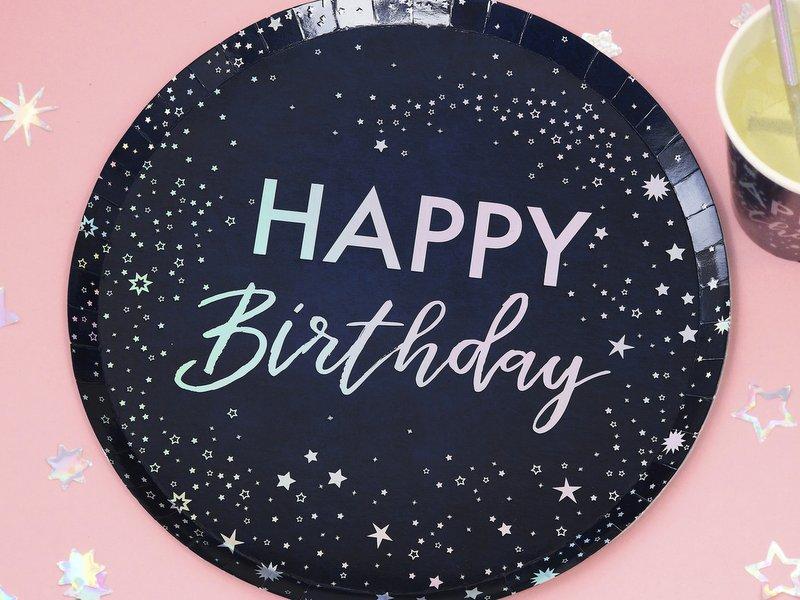 feestartikelen-papieren-bordjes-happy-birthday-stargazer-001