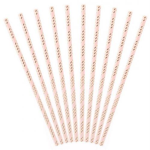 feestartikelen-papieren-rietjes-pink-gold-3