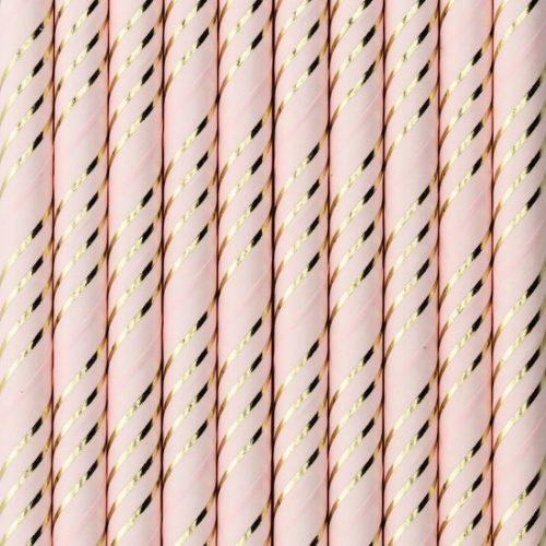 feestartikelen-papieren-rietjes-pink-gold-4