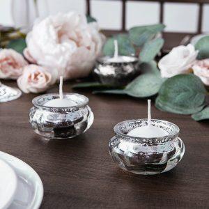feestartikelen-waxinelichthouders-round-silver-2