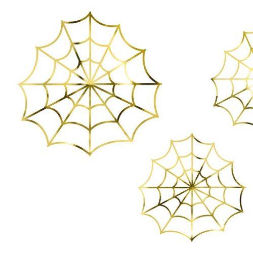 halloween-decoratie-papieren-spinnenwebben-goud-black-bats-6