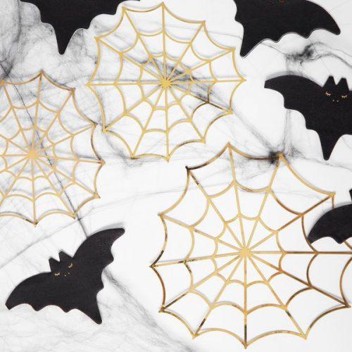 halloween-decoratie-papieren-spinnenwebben-goud-black-bats-7