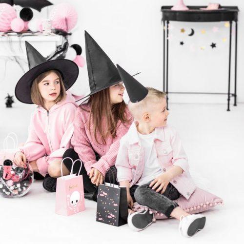 halloween-decoratie-papieren-tasjes-boo-black-bats