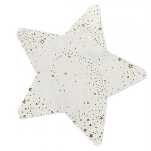 oud-en-nieuw-versiering-servetten-star-shaped-gold-pop-the-bubbly