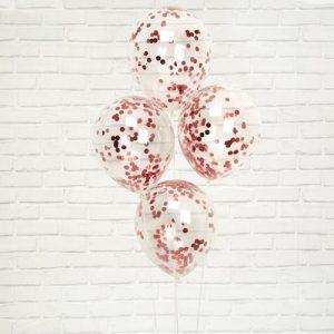 confetti-ballonnen-rood