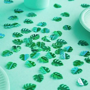 feestartikelen-confetti-green-leafs-2