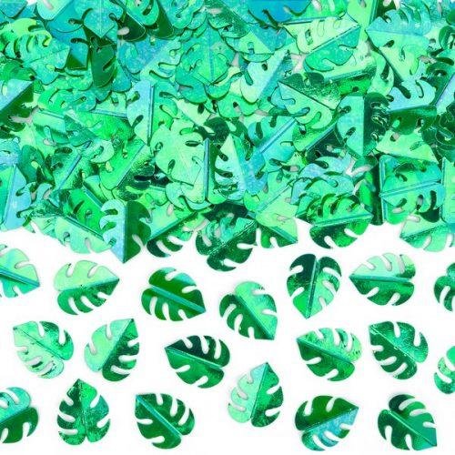 feestartikelen-confetti-green-leafs-3