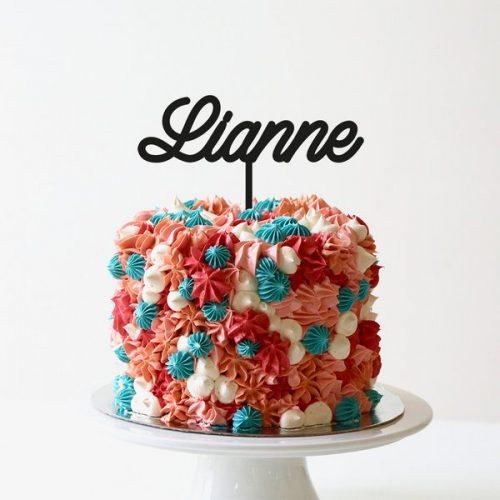 feestversiering-taarttopper-naam-gepersonaliseerd