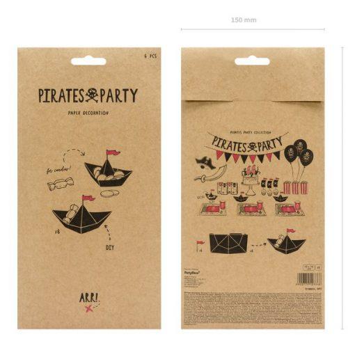 kinderfeestje-versiering-papieren-decoratie-black-boats-pirates-party