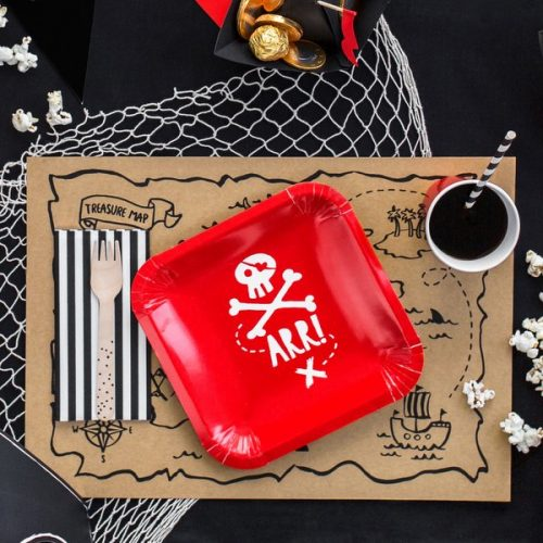 kinderfeestje-versiering-papieren-pirates-party-rood-4