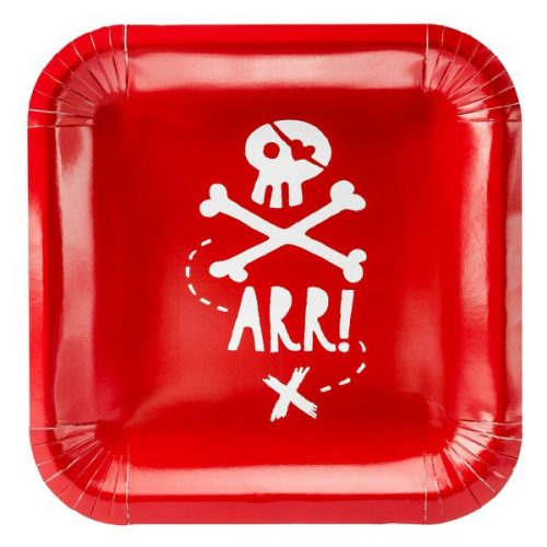 kinderfeestje-versiering-papieren-pirates-party-rood-6