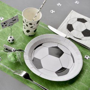kinderfeestje-voetbal-papieren-bordjes-voetbal