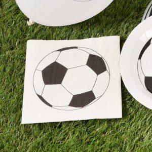 kinderfeestje-voetbal-servetten-voetbal