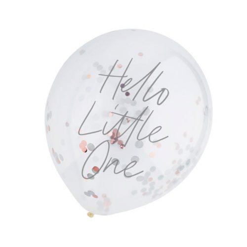 babyshower-versiering-confetti-ballonnen-hello-little-one-2