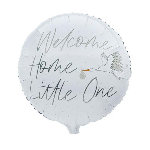 babyshower-versiering-folieballon-welcome-home-little-one-3