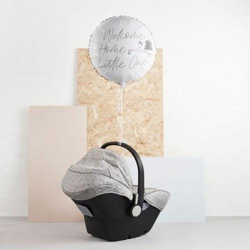 babyshower-versiering-folieballon-welcome-home-little-one