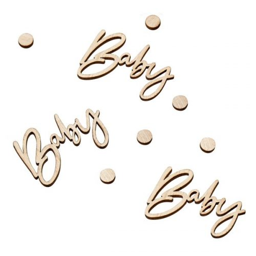 babyshower-versiering-houten-confetti-botanical-baby