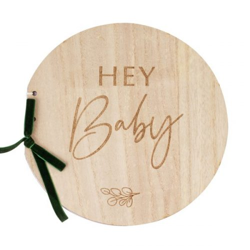 babyshower-versiering-houten-gastenboek-botanical-baby