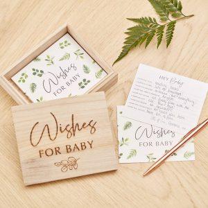 babyshower-versiering-houten-wensbox-botanical-baby-2