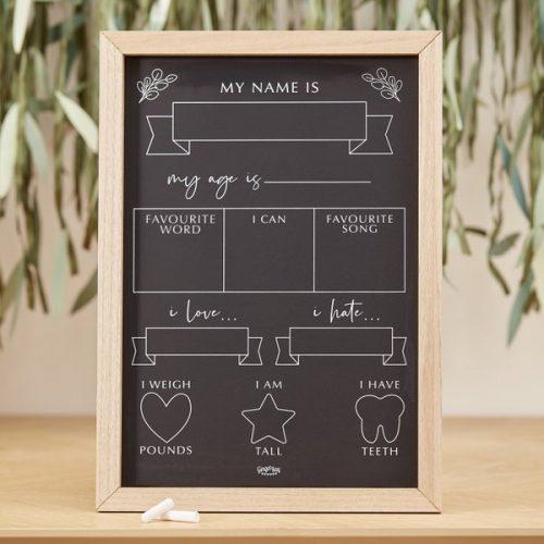 babyshower-versiering-milestone-krijtbord-botanical-baby-2