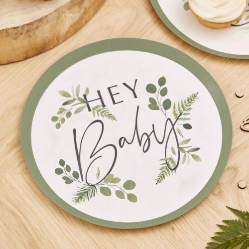 babyshower-versiering-papieren-bordjes-botanical-baby-2