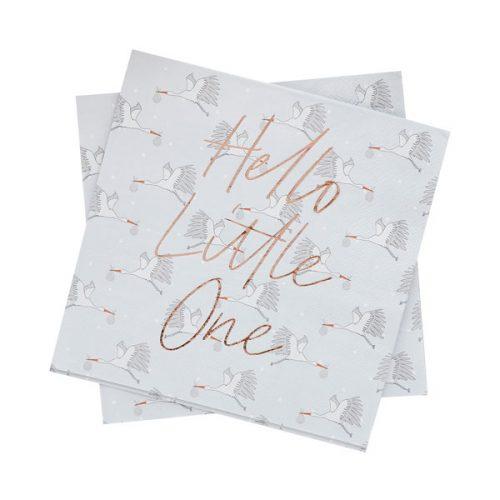 babyshower-versiering-servetten-hello-little-one-2