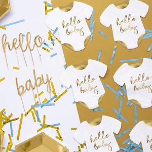 babyshower-versiering-servetten-rompertje-hello-baby-2
