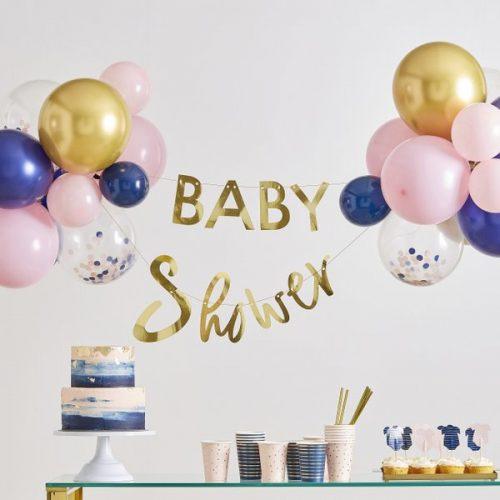 babyshower-versiering-slinger-ballonnen-babyshower-gold-pink-navy-2