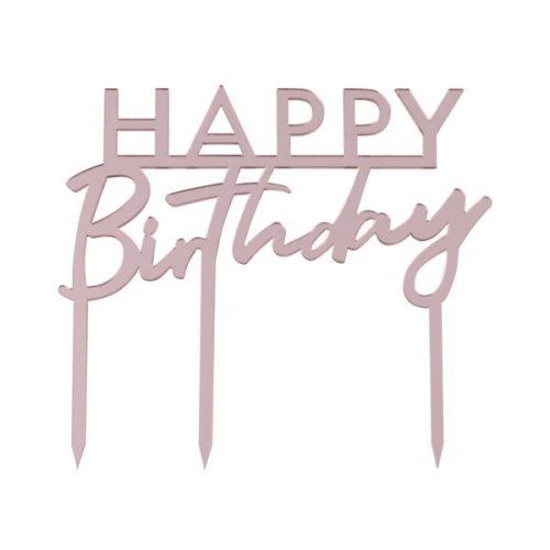 feestartikelen-acryl-cake-topper-happy-birthday-pink-mix-it-up-pastel